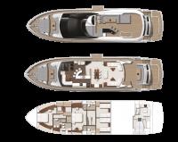Sunseeker 86 Yacht купить яхту