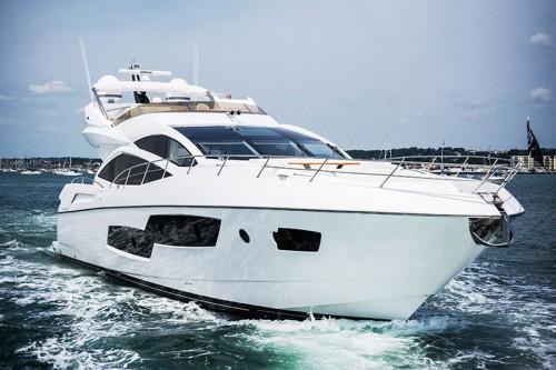 Sunseeker 80 Sport Yacht купить яхту