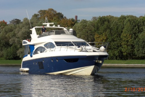 Azimut 70 2009 купить яхту
