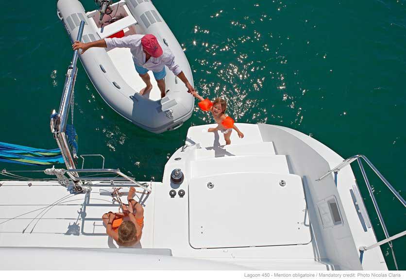 Аренда катамарана класса люкс на Пхукете Lagoon 450