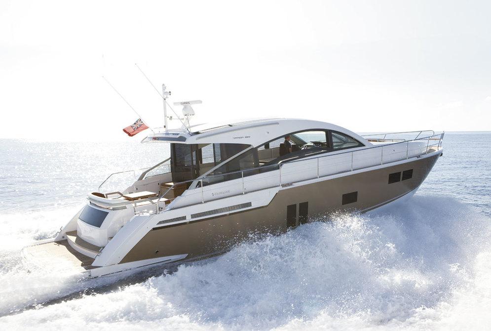 Купить яхту Fairline Targa 58 GT