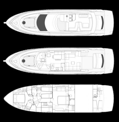 Manhattan 63 купить яхту Sunseeker