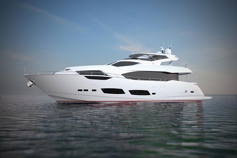 Sunseeker 95 Yacht купить яхту